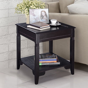 End Table Durable Quality With  Shelf