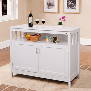 Kitchen Storage Cabinet Buffet Server Table