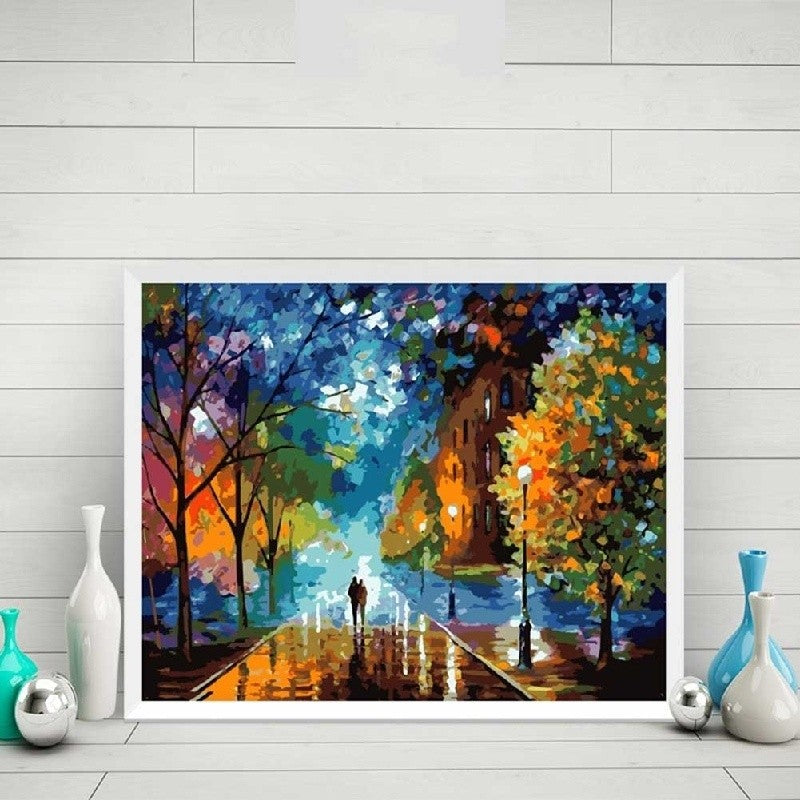 Paint By Numbers Digital Hand painted Wall Art Picture