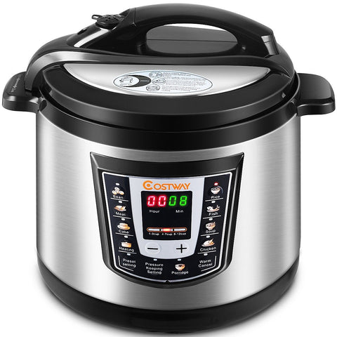 Electric Stainless Steel Pressure Cooker