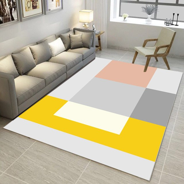 Living Room Anti-Slip s Large Size Home Area Rugs