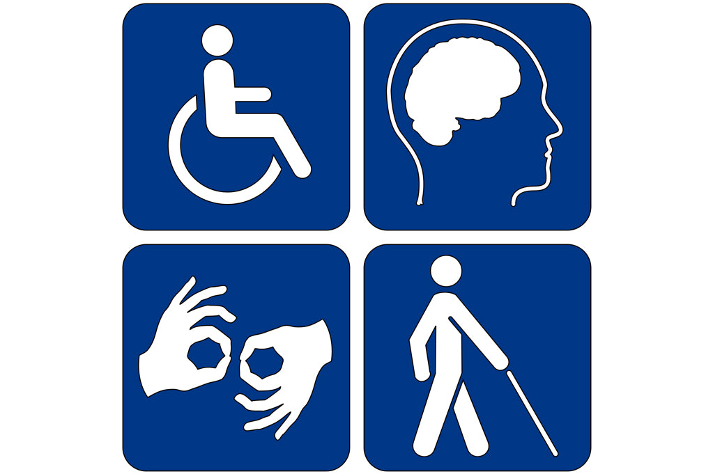 Different types of disablities