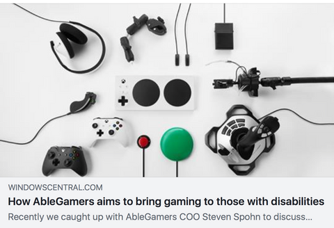 ablegamers xbox adaptive controller interview
