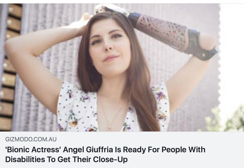 bionic actress angel giuffria is ready for people with disabilities to get their close-up