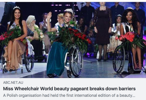 Miss wheelchair world beauty pageant breaks down barriers