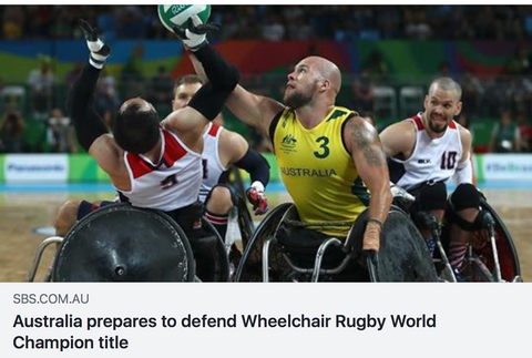 australia prepares to defend wheelchair rugby world champion title