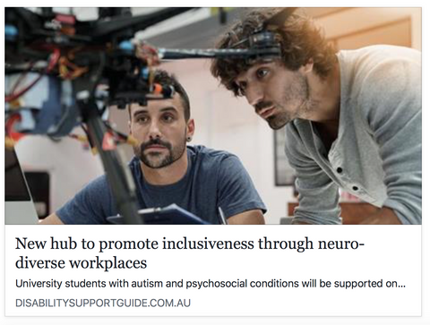 new hub to promote inclusiveness through neuro diverse workplaces