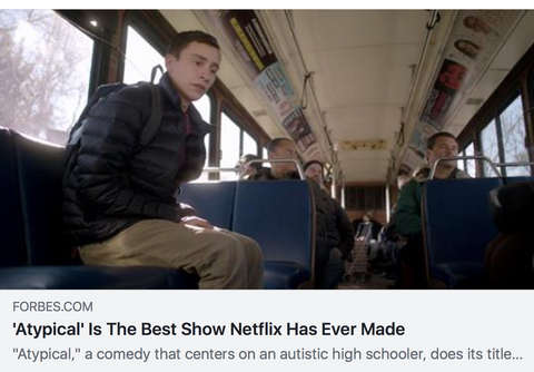 A typical review the best show netflix has ever made