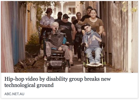 aussie hip hop and disability support group breaks new ground