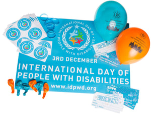 2019 IDPWD Event Day Packs (PRE-ORDER)