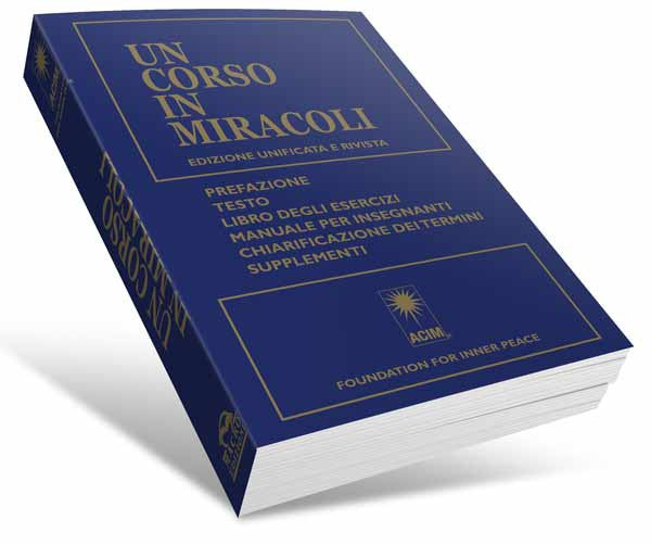 UN CORSO IN MIRACOLI - Italian Edition (Softcover) ***AVAILABLE ONLY ONLY PER BELOW***