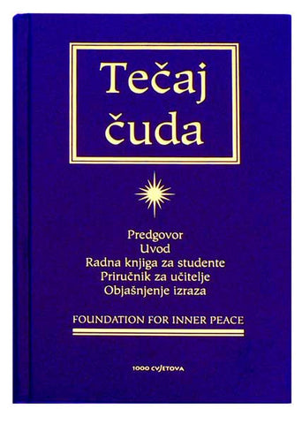 Tečaj čuda - Croatian Edition (Hardcover)