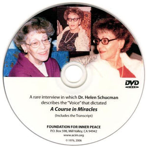 Rare Interview with Helen Schucman-DVD
