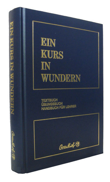EIN KURS IN WUNDERN - German Edition (Hardcover)