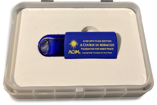 A Course in Miracles MP3 USB box flash drive in box holder