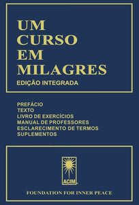 UM CURSO EM MILAGRES  ***Only Available Per Below***