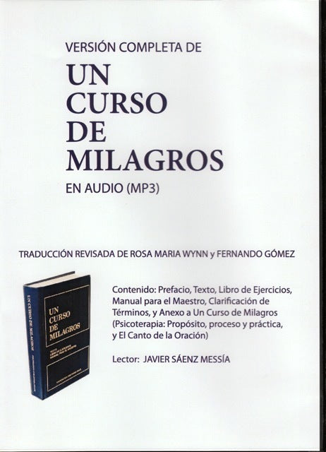 Un Curso de Milagros (CD-MP3)