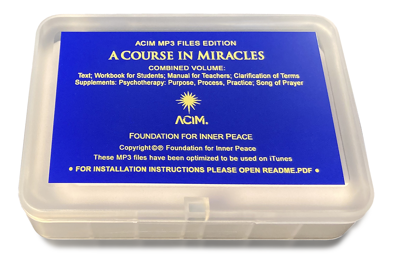 A Course in Miracles MP3 USB box holder