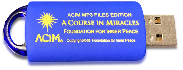 A Course in Miracles MP3 USB flash drive