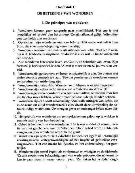 EEN CURSUS IN WONDEREN - Dutch Edition (Hardcover)