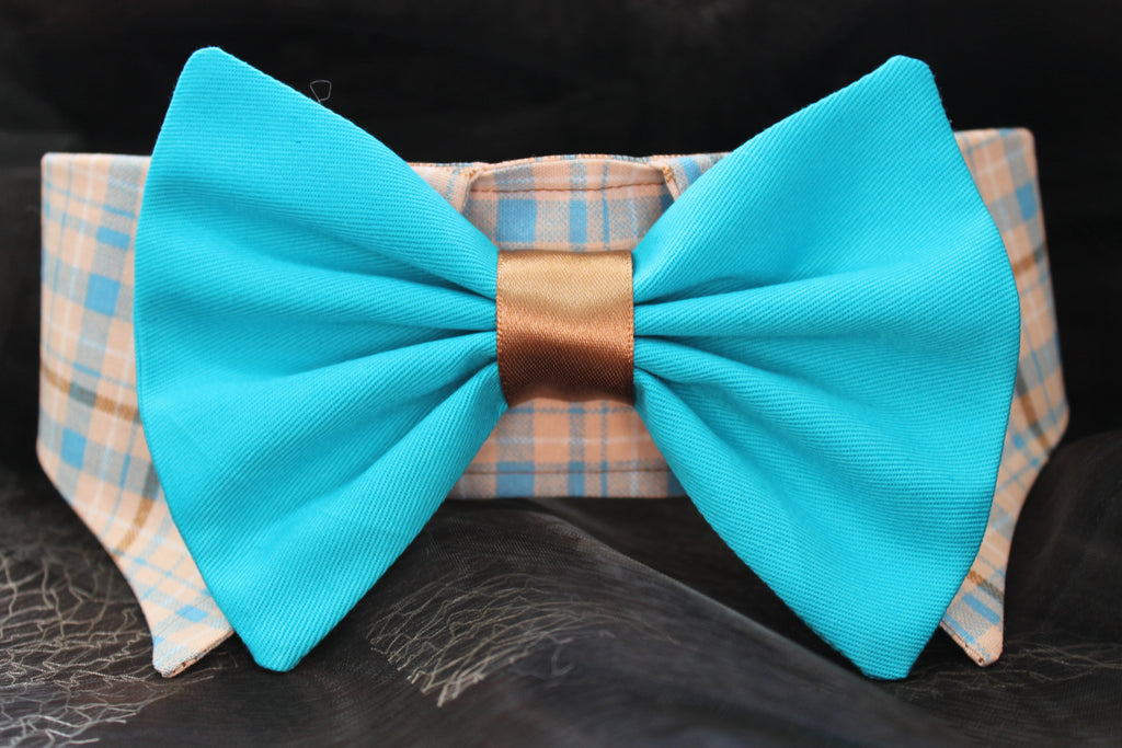 Dog Collar and Bow Tie - XLARGE