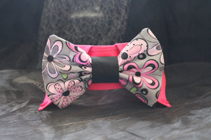 Glam - Dog Shirt Collar and Bow Tie