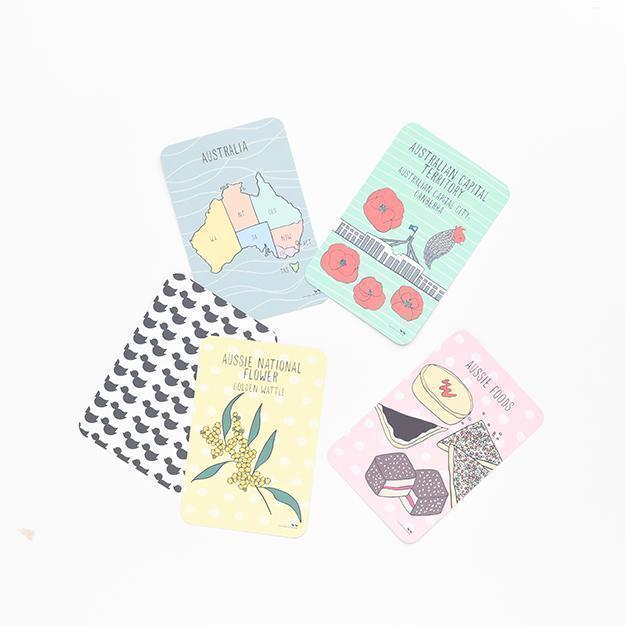 A Trip Around Oz Flashcards and Memory Game Set-[vendor]-My Happy Helpers