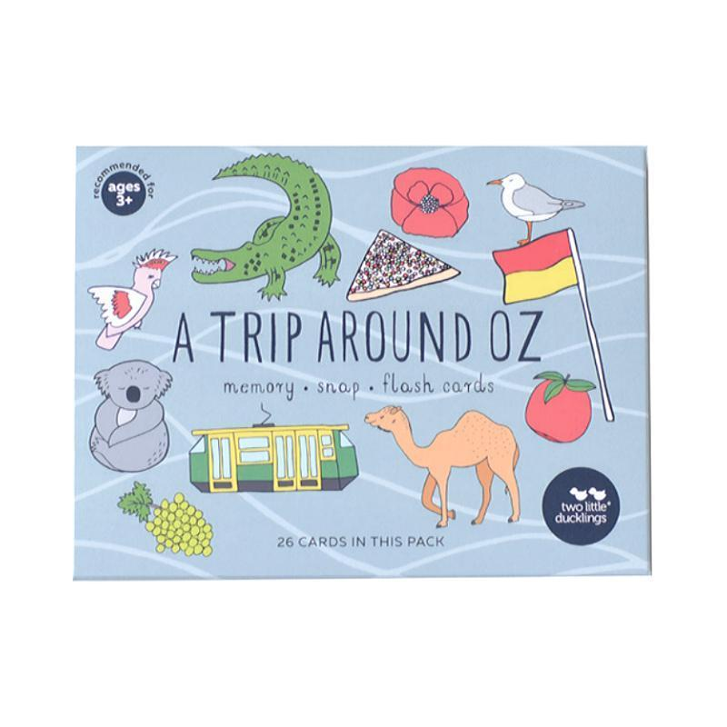A Trip Around Oz Flashcards and Memory Game Set-Two Little Ducklings-My Happy Helpers Pty Ltd