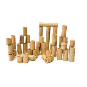 Bamboo Counting and Building Set 40 pcs.-[product_vendor-My Happy Helpers