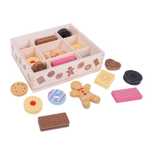 Bigjigs Wooden Box of Biscuits-[product_vendor-My Happy Helpers
