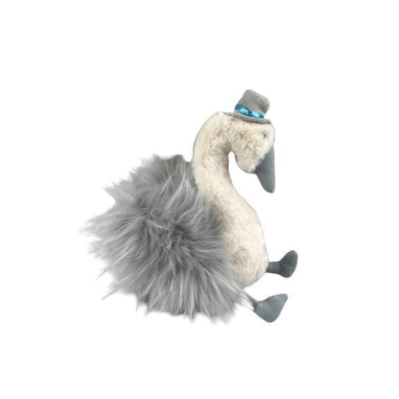 Brodie the Swan Prince Plush Toy For Toddlers-[vendor]-My Happy Helpers