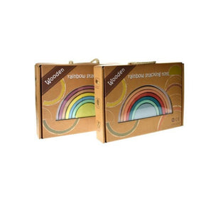 Calm and Breezy Wooden Stacking Rainbow-[product_vendor-My Happy Helpers