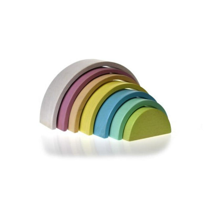 Calm and Breezy Wooden Stacking Rainbow