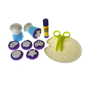 Children's Finger Paint Kit - Blue-[product_vendor-My Happy Helpers