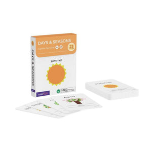 Cognitive Flash Cards - Days & Seasons-[product_vendor-My Happy Helpers