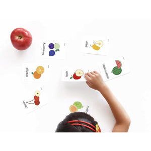 Cognitive Flash Cards - Fruit