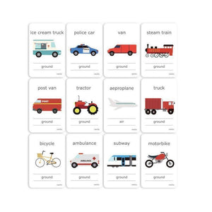 Cognitive Flash Cards - Transport-[product_vendor-My Happy Helpers