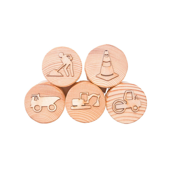 Construction Playdough Stamps