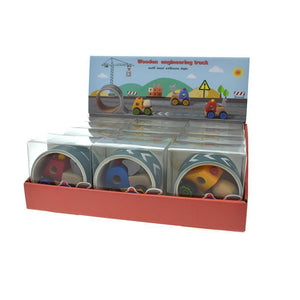 Construction Truck With Road Tape-Kaper Kidz
