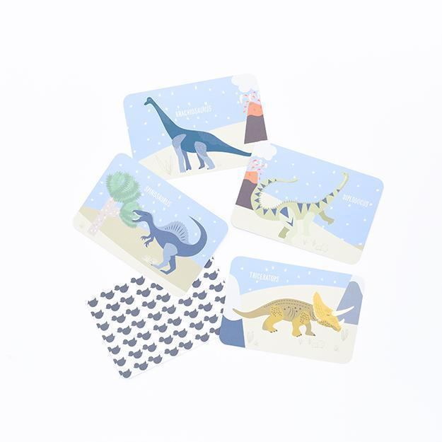 Dinosaur Snap and Memory Game for Toddlers-[vendor]-My Happy Helpers