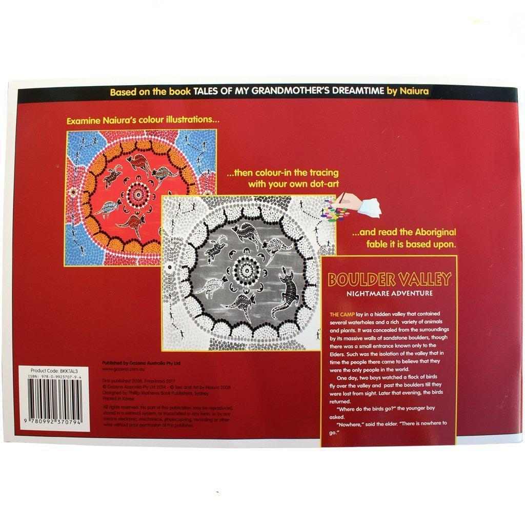 Dreamtime Dot Art Colouring-In Book 3-Bigjigs-My Happy Helpers Pty Ltd