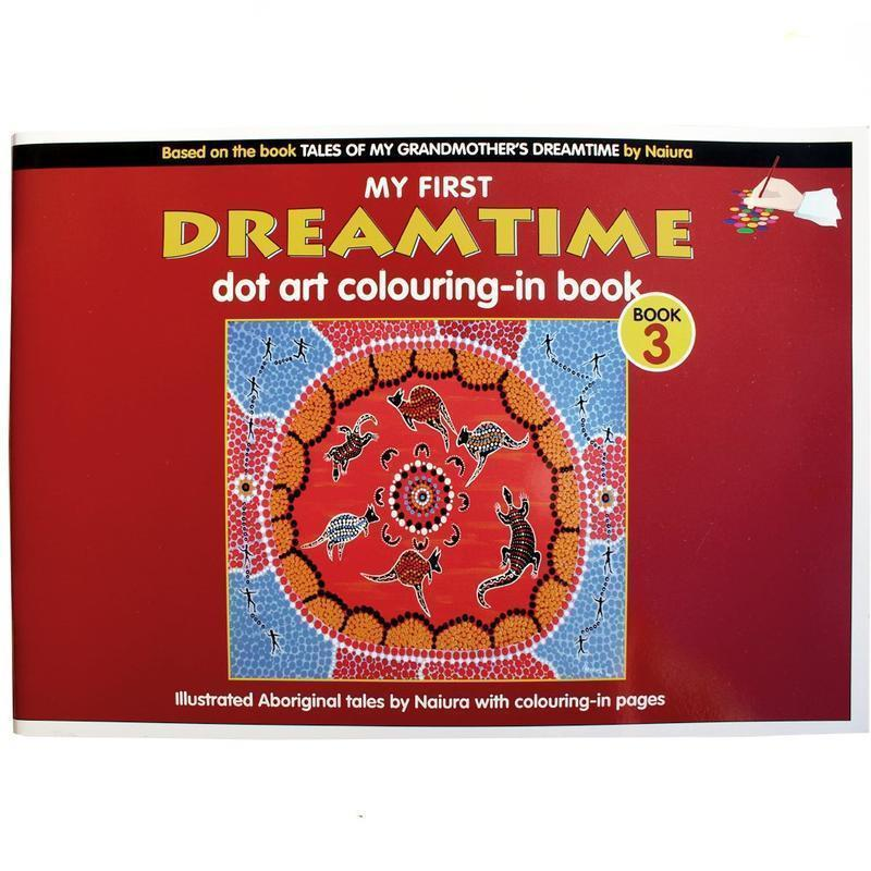 Dreamtime Dot Art Colouring-In Book 3-Bigjigs-My Happy Helpers