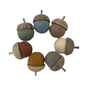 Earth Acorns - 7pc-Papoose-My Happy Helpers