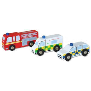 Emergency Vehicle Car Set