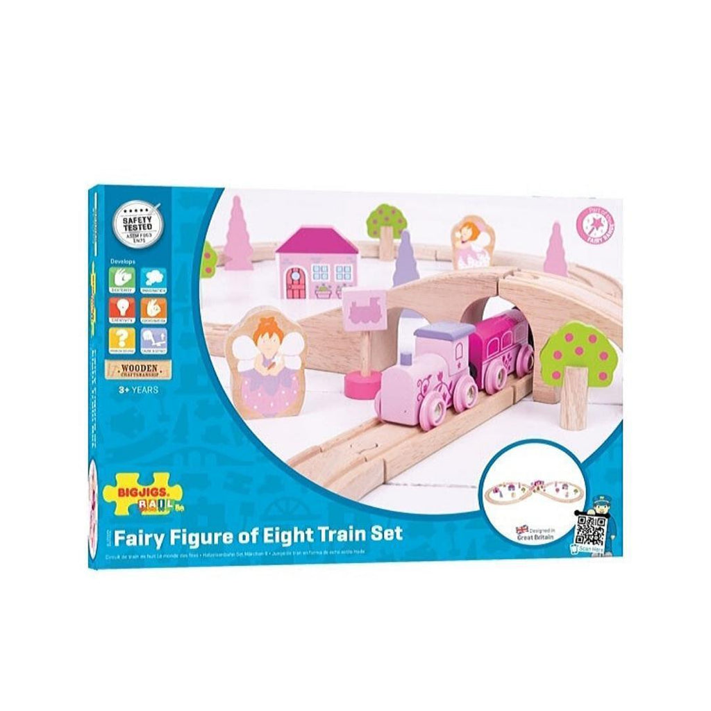 Fairy Figure of Eight Train Set-Bigjigs-My Happy Helpers