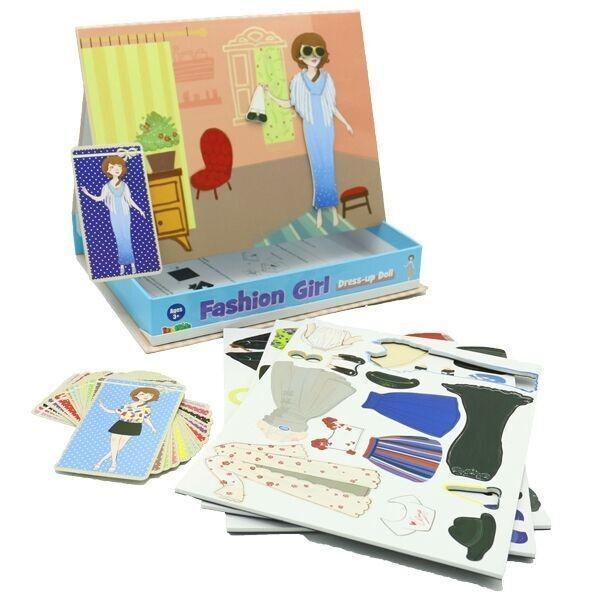 Fashion Girl Magnetic Dress Up Box