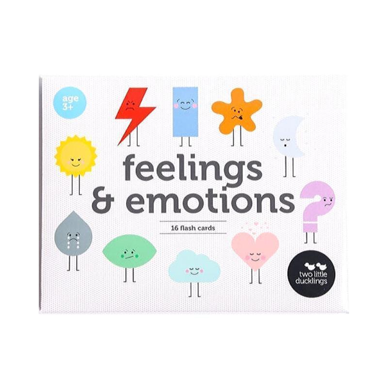 Feeling and Emotion Flashcards Set-Two Little Ducklings-My Happy Helpers