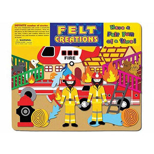 Fire Engine - Story Board-Felt Creations