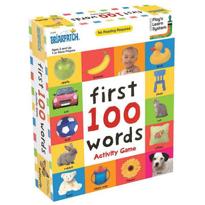 First 100 Words Activity Game-Briarpatch
