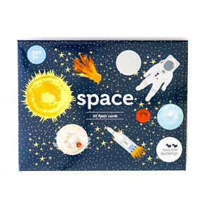 Flashcards - Space Theme-[product_vendor-My Happy Helpers